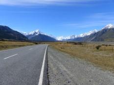 Blick in den Mount Cook Nationalpark