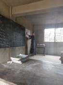 Sicht vom Lehrerpult aus