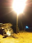 Eine der besagten Laternen vor meinem Haus...