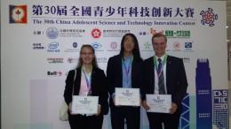Unser Team in Hongkong