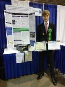 Jannik bei ISEF, USA, Sonderpreis und Paltz 4 in Physik