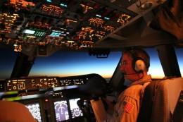 Im Cockpit von SOFIA