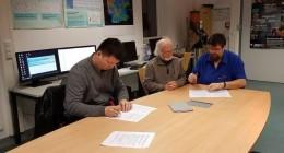 Unterzeichnung des Kooperationsabkommens