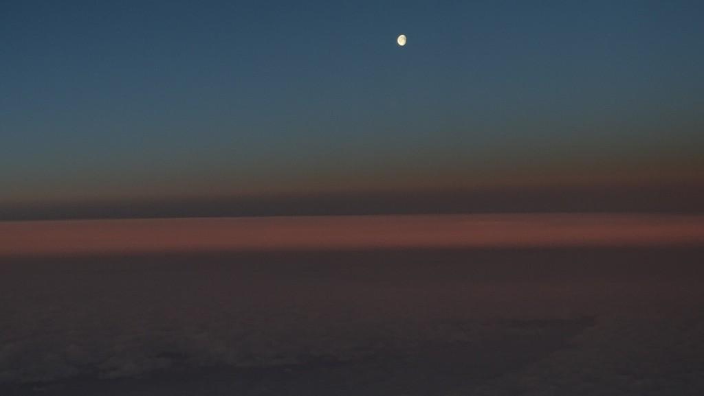 Mond mit Jupiter