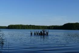 Kurze Erfrischung im geliebten Badesee :)