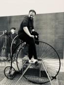 Er ist und bleibt Radsportfan.