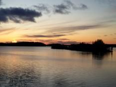 So ein schöner Sonnenuntergang