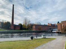 Tampere gibt es auch mit Sonne