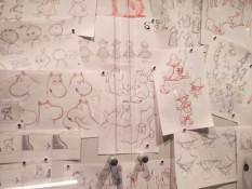 Original Skizzen von Tove Jansson