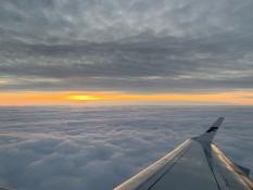 Sonnenaufgang über Helsinki