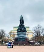 Katharina die Große - Denkmal