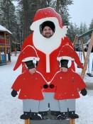 Nein, liebe Kinder, das ist nicht der echte Weihnachtsmann.
