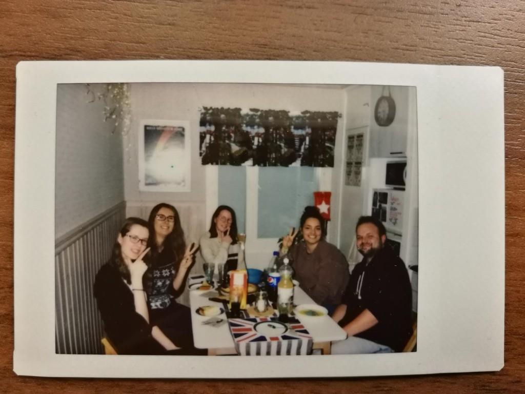 Sivu, Viivi, Clémence, ich selbst, Marvolo (und Anni, die Fotografin)