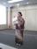 unsere Kanji Lehrerin im Kimono