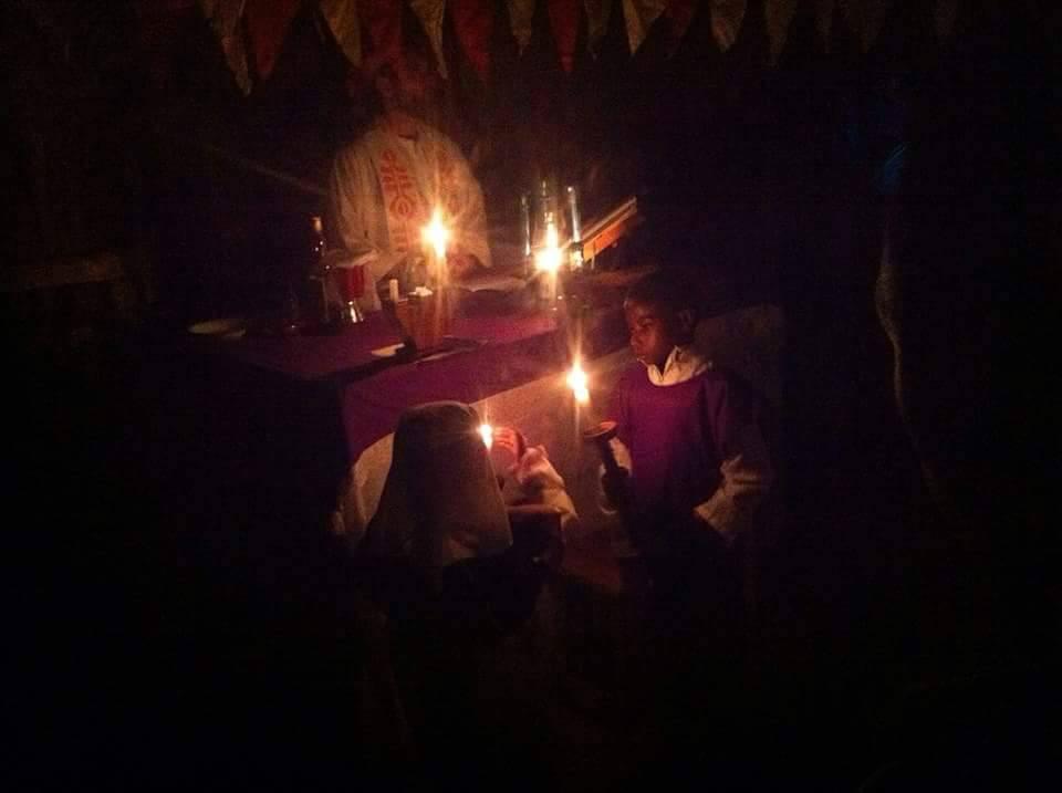 Festliche Feier der Christmesse