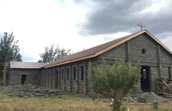 die neue Kirche in Suswa