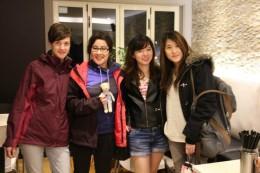 Viola, Chris, Audrey & Tian