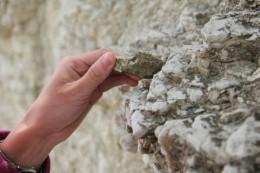 Bröckeliger Fels