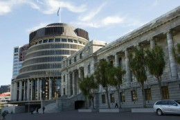 Beehive and Parlament haus (edwardianisch-neoklassizistisch)