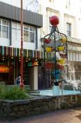Bucket Fountaine in der Cuba Street