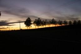 Vor der Arbeit: Jeden Morgen sehen wir den Sonnenaufgang!