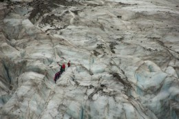 Da ist die Gletschergruppe