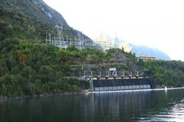 Manapouri hydroelectric power station