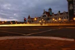 Die alte railway station