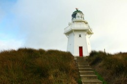 Lighthouse am Waipapa Point