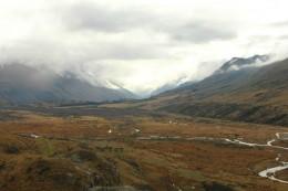 Das Tal des Drehortes