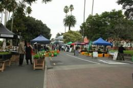 Markt in Napier