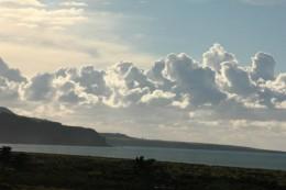 Dicke, schöne Wolken