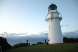 Der Leuchtturm im Morgenlicht