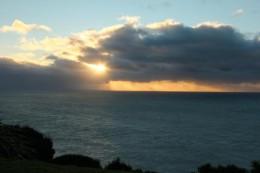 Ein ganz bisschen Sonnenaufgang