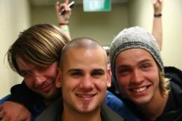 Gustav, Lenaique & Michèl
