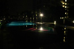 Unser privater Pool