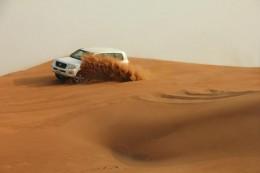 Sand dune bashing