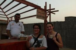 Arabischen Tee und Datteln