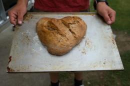 Ein Brot in Herzform! -Herz ergreifend
