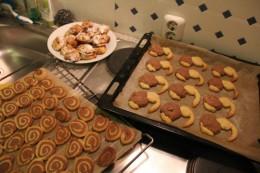 Kiwi-Kekse und die die Pudezucker-Tarnung