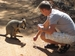 Wallaby mit Baby