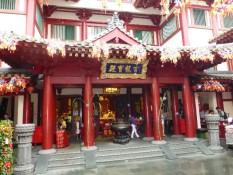 Buddhatempel outside