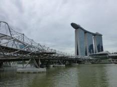 Helixbrücke & Marina Bay Sands