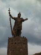Pachacuteq-Statue