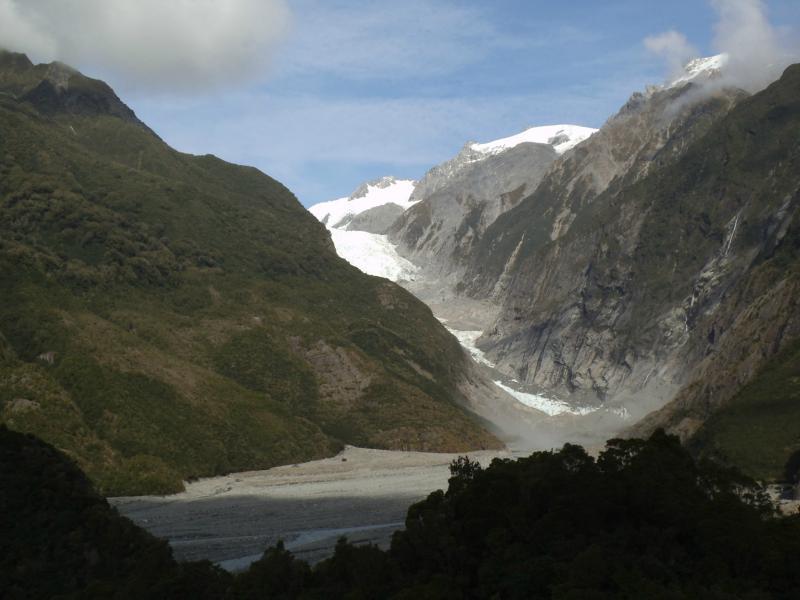 Der Franz Josef Gletscher