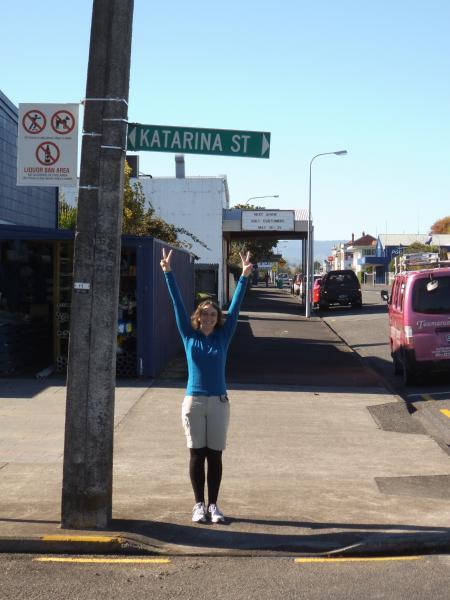 Eine Straße ist nach mir benannt!!!