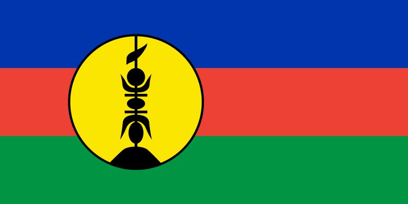 Flagge Neukaledoniens