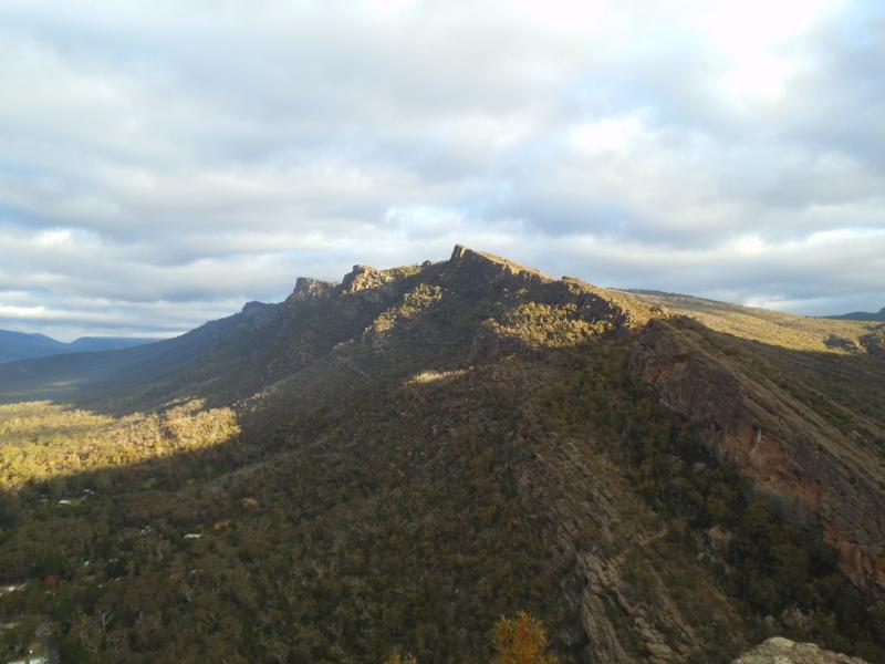 Kurz vor dem Chatauqua Peak