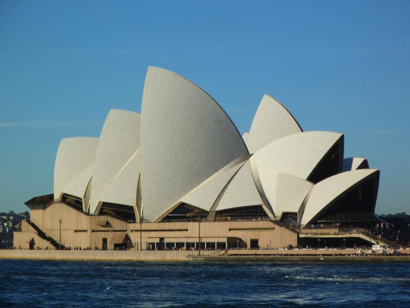 Ein letzter Blick auf das Opernhaus