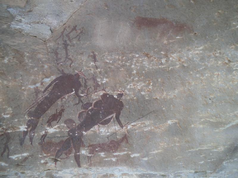 Sanimalereien (Main Cave, Giant's Castle)